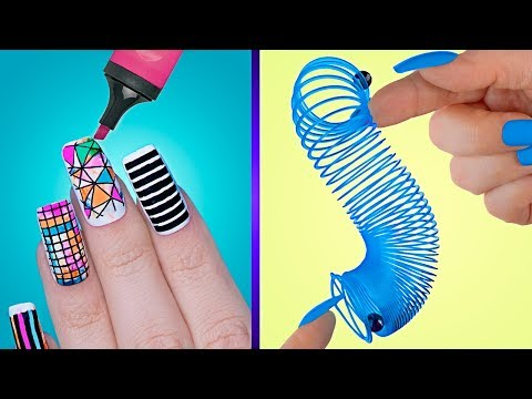 9 лайфхаков для ногтей / Нейл-арт антистресс