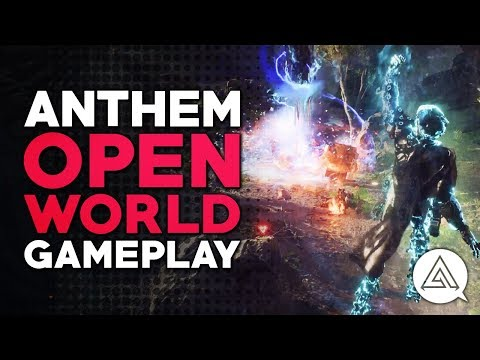 ANTHEM | New Open World Gameplay - World Events, New Enemies & More!