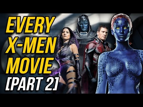 A Review of EVERY X-MEN MOVIE (Part 2)