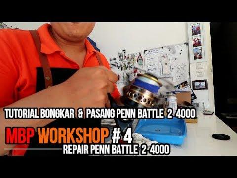 MBP Workshop # 4   Penn Battle 2 4000 Repair Tutorial