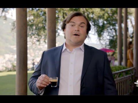 Jack Black e George Clooney nos novos anúncios Nespresso!