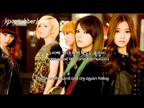 AOA - Tears Falling (휠릴리) [Eng Sub+Romanization+Hangul] HD