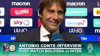 BOLOGNA 1-2 INTER | ANTONIO CONTE EXCLUSIVE INTERVIEW: