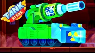 Tank Stars UPDATE - NEW ATOMIC TANK | Irradiation Booster | Android GamePlay FHD
