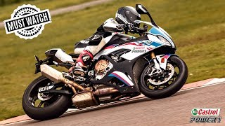 This is what happened on the TRACK DAY ! 🔥   California SUPERBIKE School at MMRT with CastrolPOWER1