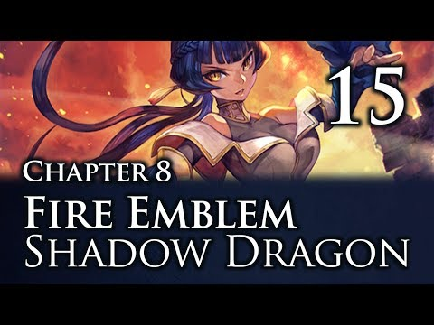"""Part 15: Let's Play Fire Emblem Shadow Dragon, Classic Merciless, Chapter 8 - """"Roger Roger"""""""