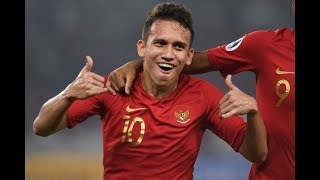 INDONESIA U19 VS CHINA TAIPEI U19  (3-1) Highlights PIALA AFC 18/10/2018