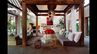 Обзор виллы на Бали 580 кв.м. Уникальный интерьер дома от архитекторов
