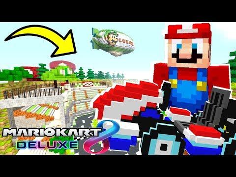 Mario Minecraft - Real Mario Kart Racing In Minecraft! [13]