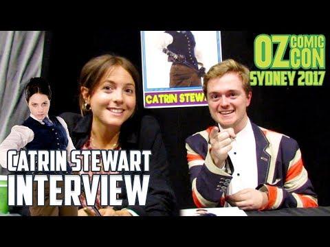 Interrogating Catrin Stewart    Oz Comic Con