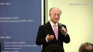 Yukiya Amano: Director General of the International Atomic Energy Agency