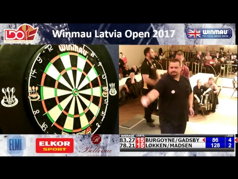 Winmau Latvia Open 2017 - mens pairs final