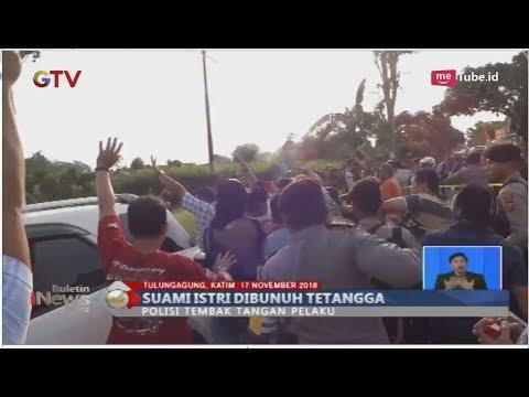 Pembunuhan Sadis di Tulungagung, Pasutri Tewas Dibacok Tetangga Sendiri - BIS 17/11