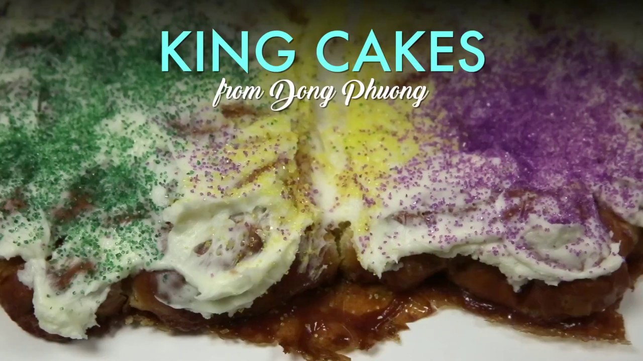 Famous King Cakes In New Orleans