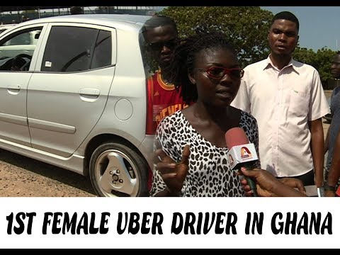 Meet Naa Adoley Addo: The only female UBER driver in Ghana