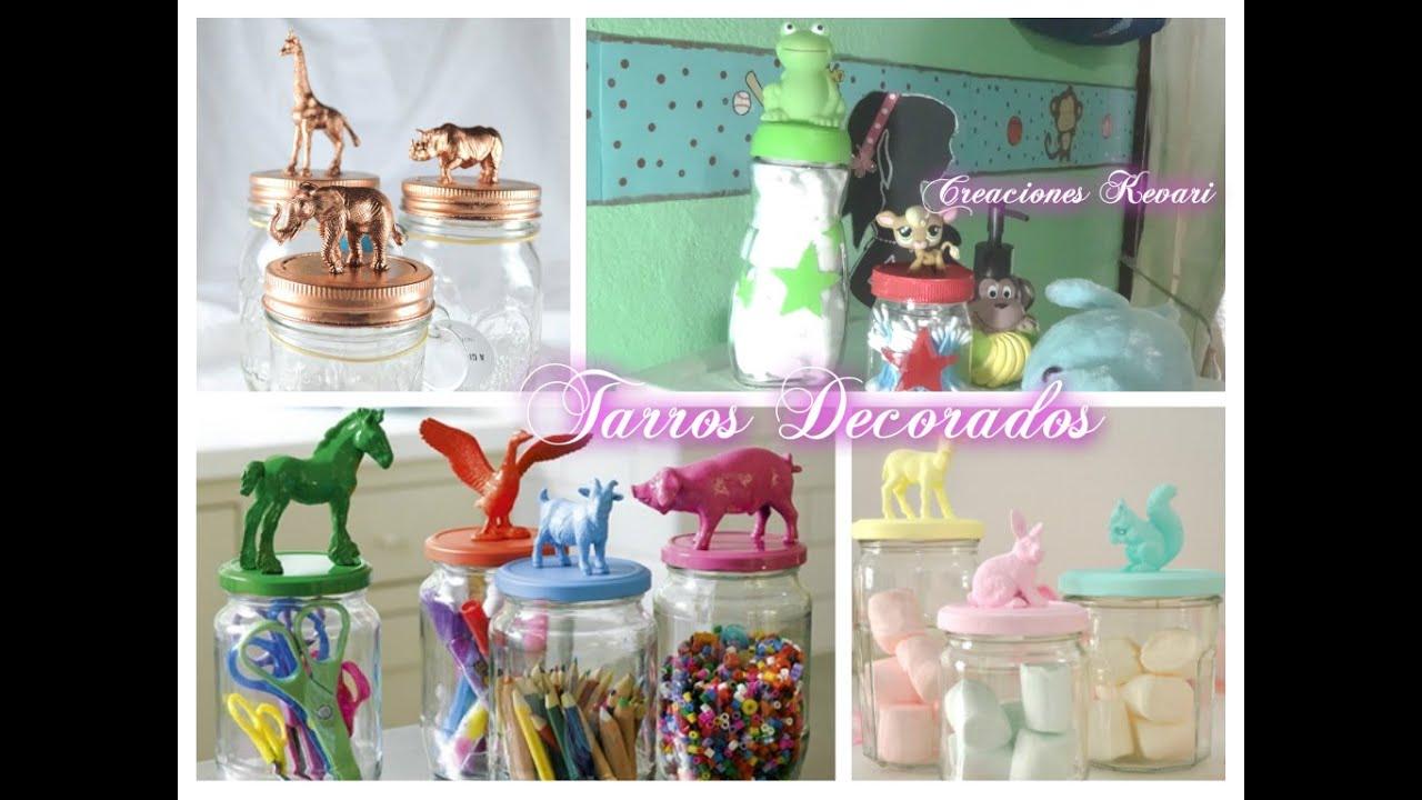 Como decorar y reciclar frascos de vidrio con animalitos for Decoracion de frascos de vidrio para cocina