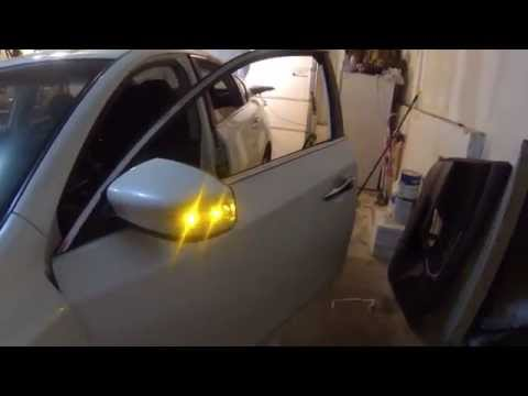 Side mirror upgrade (LED Turn signal retrofit) 2013 Nissan Altima