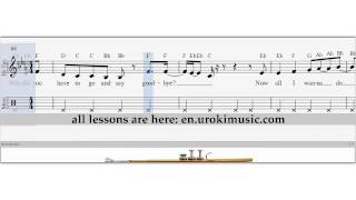 Robin Thicke - Back Together - How To Play Trumpet - Sheet Music Fingering Sample Key | Trumpet Lessons - How to Play Trumpet