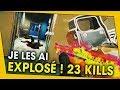 23 KILLS EN 2 GAMES ! ET UN BUG BIEN CHIANT !  RAINBOW SIX SIEGE