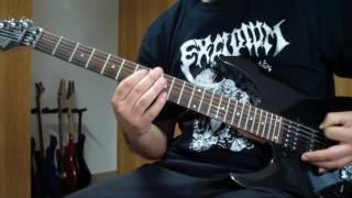 Asphyx - Candiru (guitar cover)