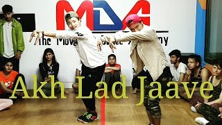 Akh Lad Jaave | Loveyatri | The Movement Dance Academy l Dance Choreography