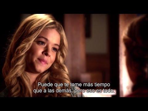 "Pretty Little Liars - Alison DiLaurentis and Hanna Flashback SUBTITULADO 4x15 ""Love ShAck, Baby!"""