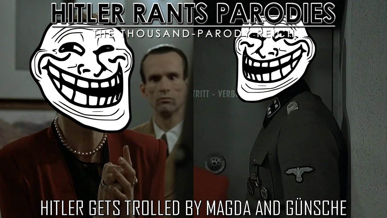 Hitler gets trolled by Magda and Günsche