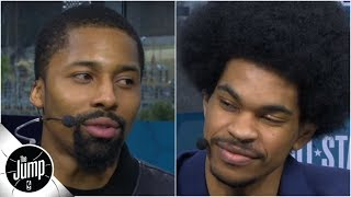 Spencer Dinwiddie calls Jarrett Allen 'future top-5 center with an amazing Afro' | The Jump
