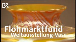 Flohmarktfund auf Weltniveau: Loetz-Vase (BR, Kunst & Krempel)