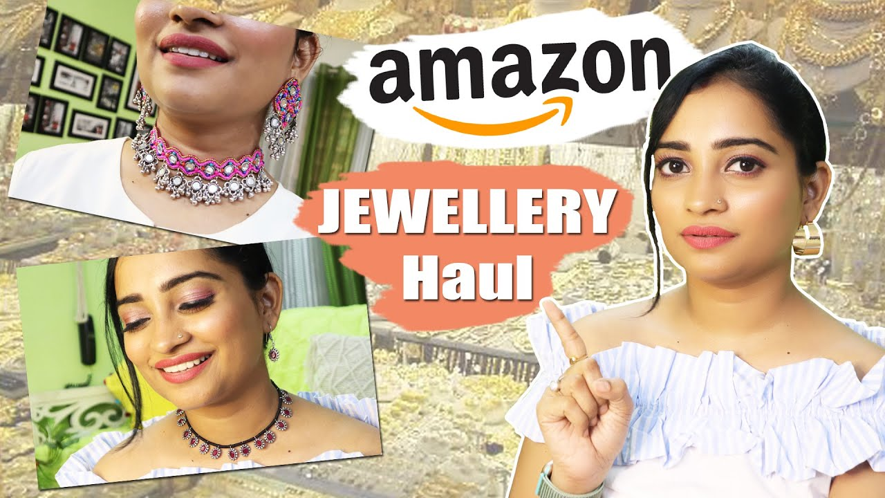 STARTING Rs.82/- HUGE Amazon jewelry haul *latest designs* Amazon Prime Day Sale