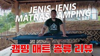 Jenis-Jenis Matras Camping   Mister Camping