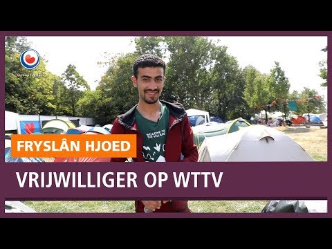 REPO: Mohamad is vrijwilliger op Welcome to the Village