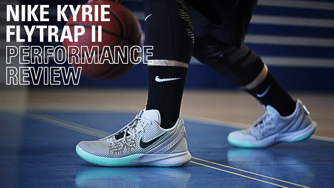 Política Espacioso jamón  Toby's Sports Performance Review: Nike Kyrie Flytrap 2 - YouTube