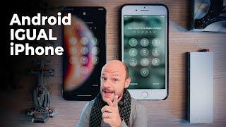Como deixar SEU ANDROID IGUAL IPHONE - Melhor Launcher de iOS - Visual do iPhone no Celular Android screenshot 1