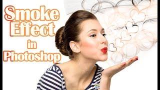 erstellen #Rauch-Effekt in #photoshop tutorial Hindi
