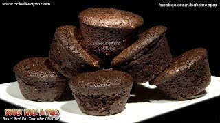 EASY Dark Chocolate 2 Bite Brownies Recipe