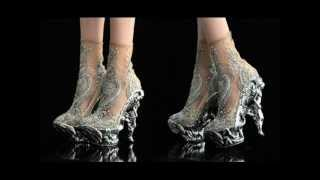Lady Gaga's shoes