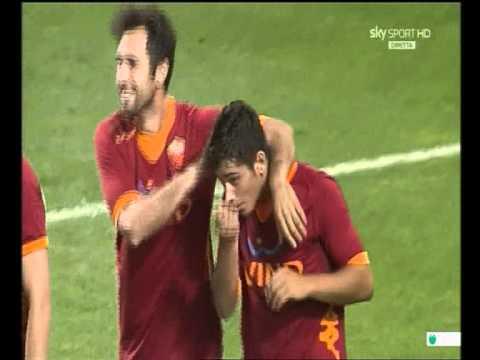 As-roma.ru - Gol Di Caprari. Innsbruck - Roma 0-1