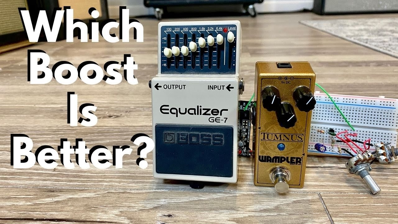 Which Boost is better? Treble Boosts, EQ Pedals, and Tumnus Overdrives
