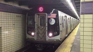 NYC Subway HD: Alstom R160A-1 C