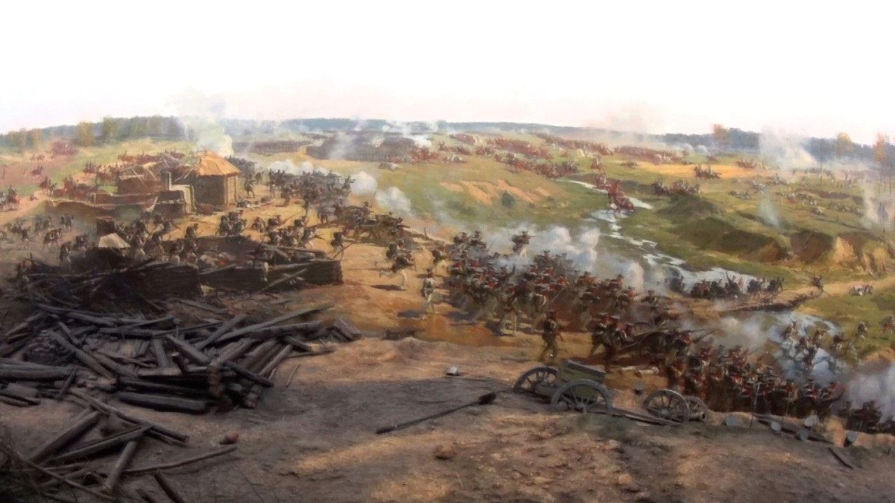 Battle of Borodino 1812 Panorama