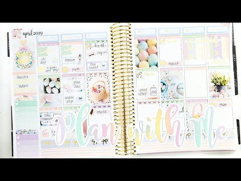 Plan with Me: Easter Week!