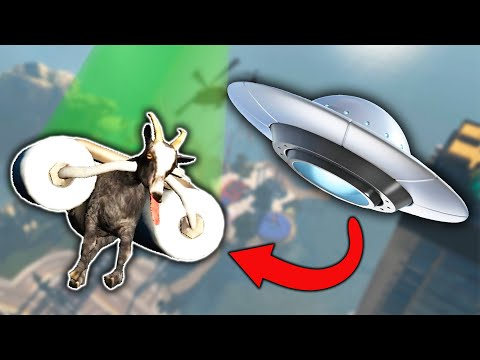I GOT ABDUCTED BY ALIENS?! (Goat Simulator)