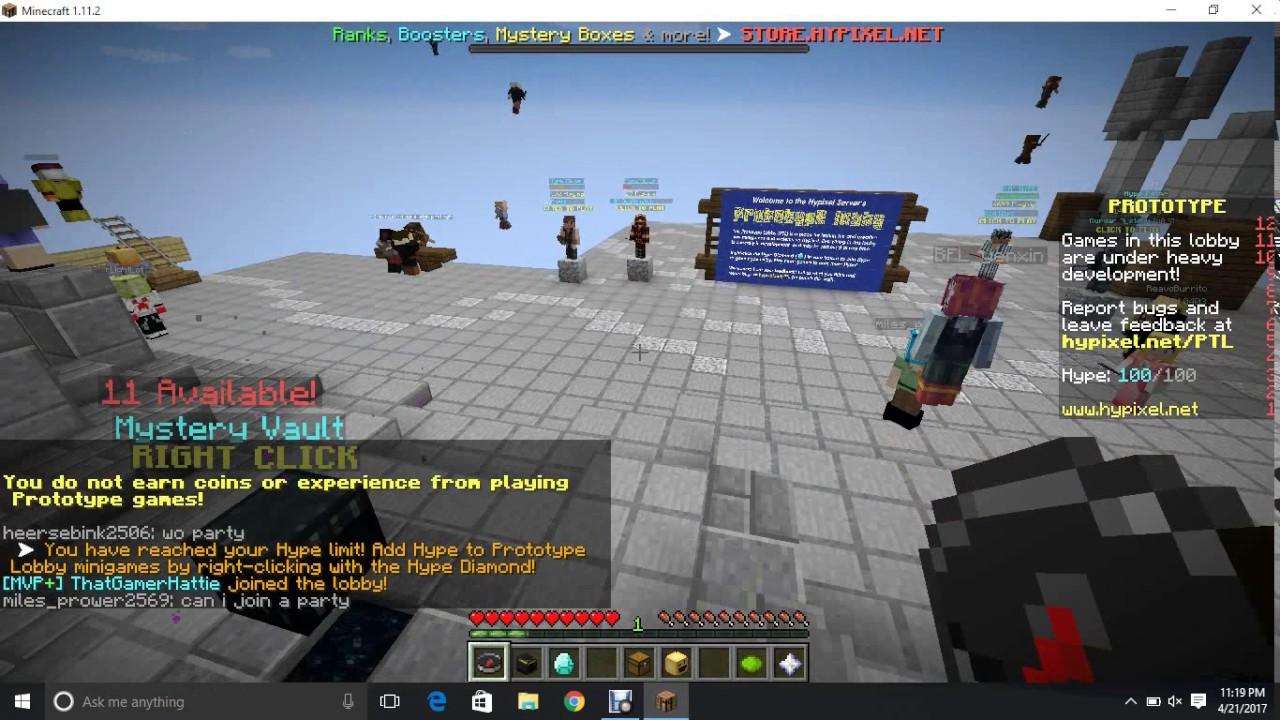 How To Invite Someone Minecraft Hypixel YouTube - Minecraft server party erstellen