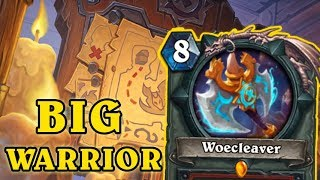 [Hearthstone] Big Warrior Is Actually Good ?!