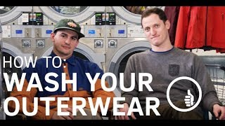 How to wash your outerwear | TREW Gear
