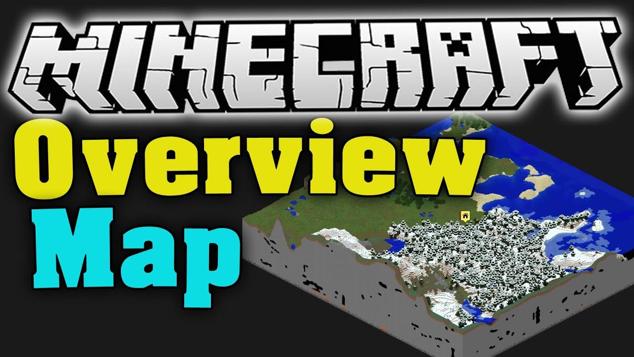 Minecraft Karten Erstellen.Minecraft Tutorial Overview Map Erstellen Google Maps In Minecraft Hd 60fps
