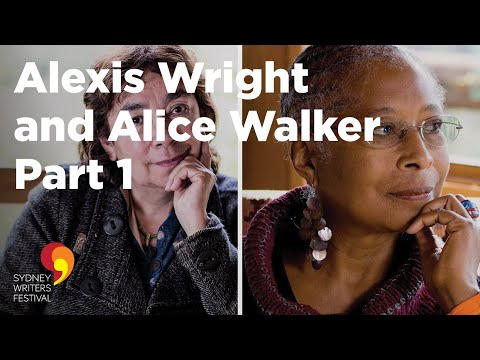 Alexis Wright and Alice Walker at Sydney Writers' Festival (