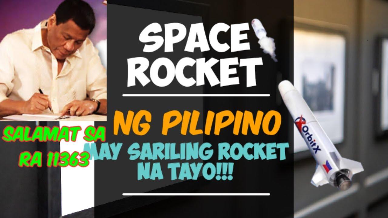 philippines first space rocket #rocket #philippinespaceagency #orbitx