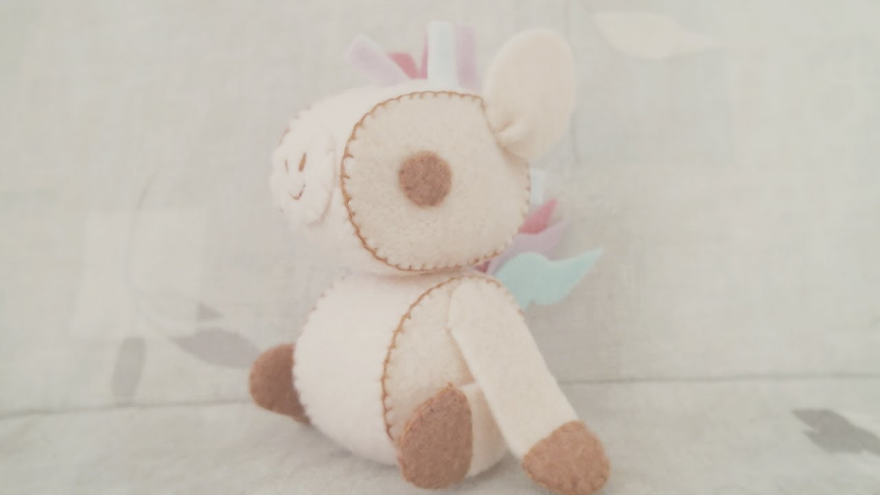 How To Make A Kawaii Horse Plushie Tutorial Youtube